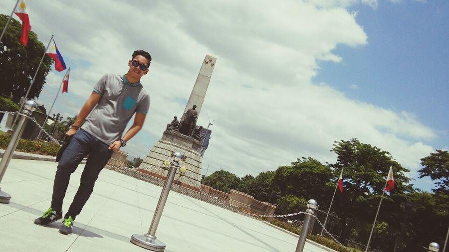 My Country In A Photo Luneta Park. Nationalhero Jose Rizal
