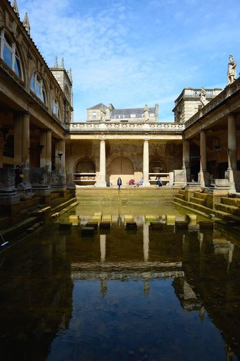 Sunbathing in Bath Relaxing Check This Out Travel Photography Travel Snapshot United Kingdom Bath Roman Bath Fresh On Eyeem  Reflection Blue Sky My Love Snapshots Of Life Britain