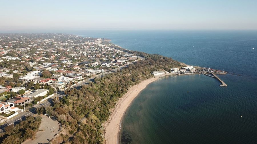 Eye4photography  Drone  DJI Mavic Pro Aerial View Seascape Seaside Shore Coast Coastline Landscape Australia Water Sea Scenics - Nature Beauty In Nature Beach High Angle View Tranquil Scene Horizon Over Water Idyllic Building Exterior Aerial View Architecture Tranquility Outdoors Day Sky Nature Land City