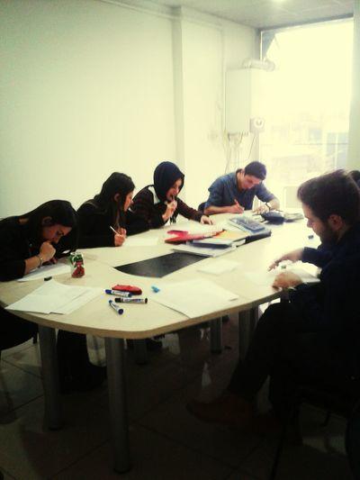 Öğrencilerim Quiz Olurken :) Studying