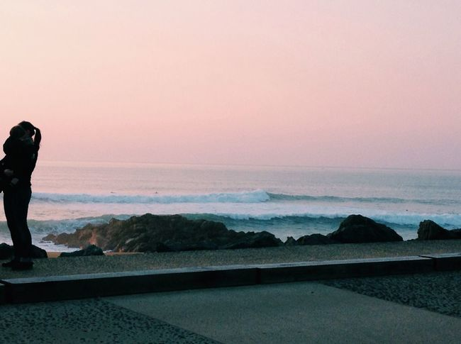 ?? wavessss and sunset