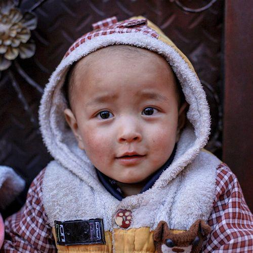 Baby Hani Yunnan Yuanyang