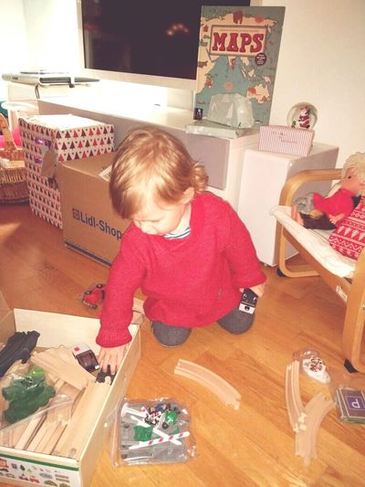 Child Looking Down Childhood Indoors  People Bokeh Winter 2016 Christmas 2016 Christmastime Christmas Around The World December2016 Christmas Is Here  Love My Family Love My Nephew Alexander Little Boy Playing