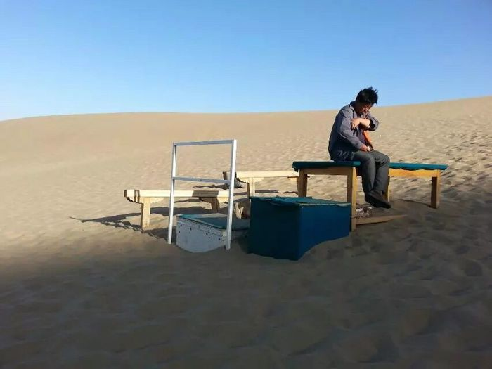 Desert Desert Life Deserts Around The World DunHuang China Gansu Province Businessman