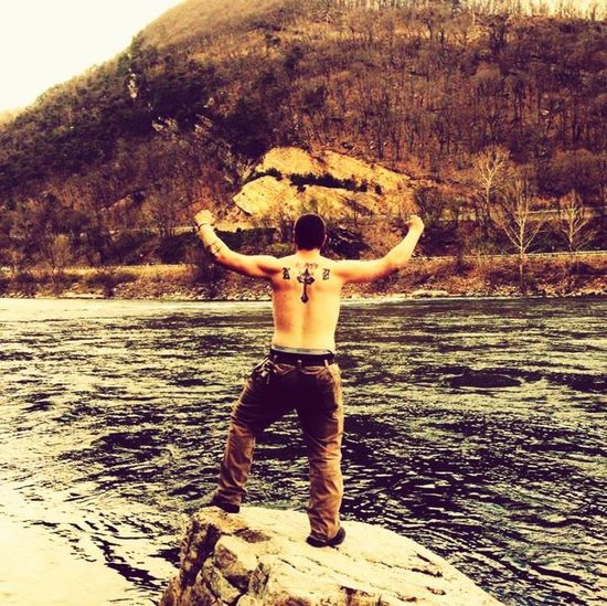 RePicture Masculinity Primal Yell/Rebel Yell Freedom One With Nature Natural Beauty Basic Instincts ManSexy