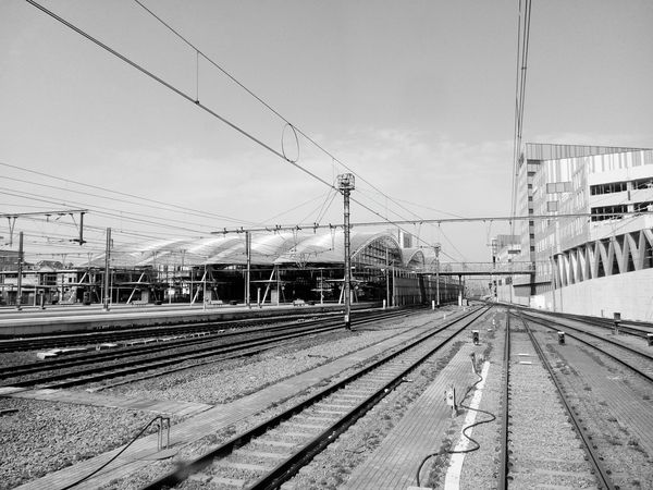 Blackandwhite Photography Notes From The Underground Public Transportation Huawei Shots EyeEm Filter Train Tracks Trainspotting Railway