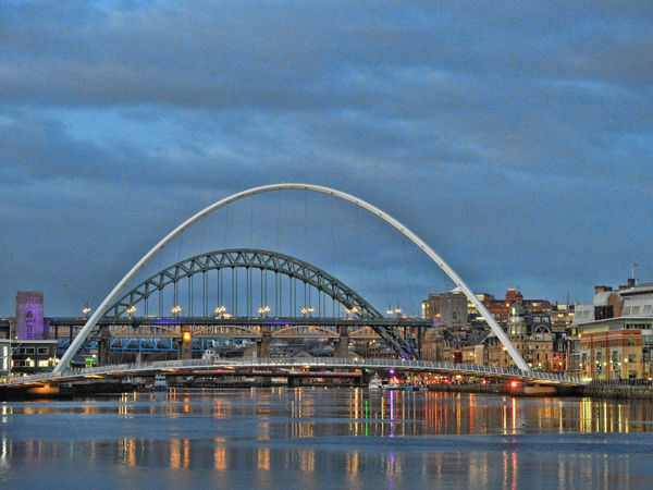 Newcastle Upon Tyne River Tyne, Architecture Building Exterior Built Structure City Cityscape Cloud - Sky Day Nature No People Outdoors Sky Water Waterfront