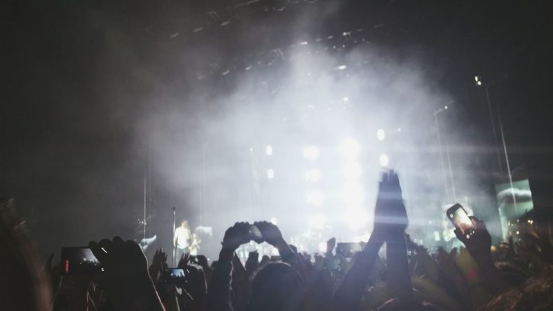 Concert Concert Lights Imagine Dragons Music Clapping Hands Clapping With Excitement