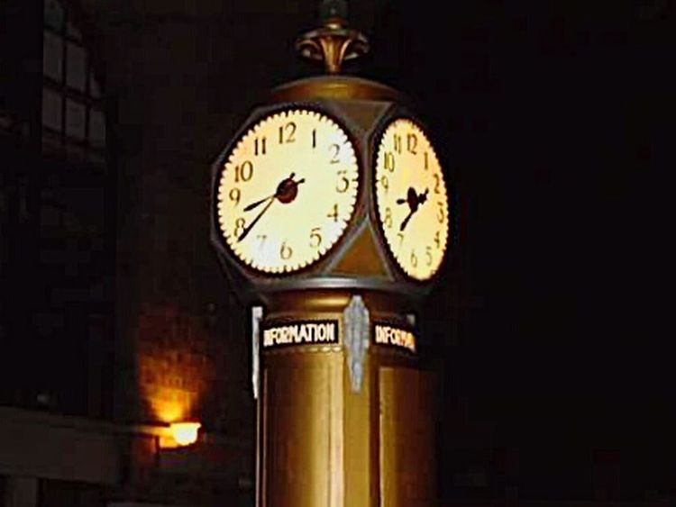One of the original, restored clocks inside Buffalo's Historic Central Terminal. Old Buildings Not Forgotten Clocks Historical Building Buffalo Central Terminal