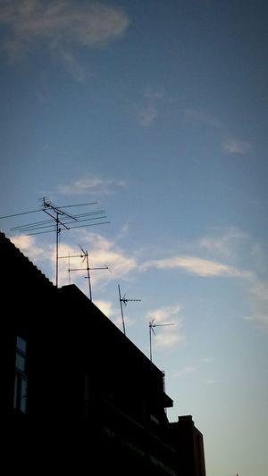 Sky Clouds Antenna
