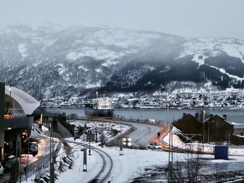 Narvik Norway Norge Snow Winter Fjord Cruise Trainway Traveling Iamonmywaytoeverywhere