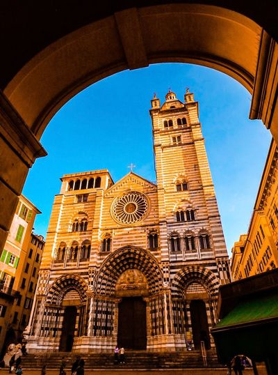 Architecture Arch Built Structure Low Angle View Place Of Worship Travel Destinations Tourism Religion Building Exterior Indoors  Illuminated Sky Day No People