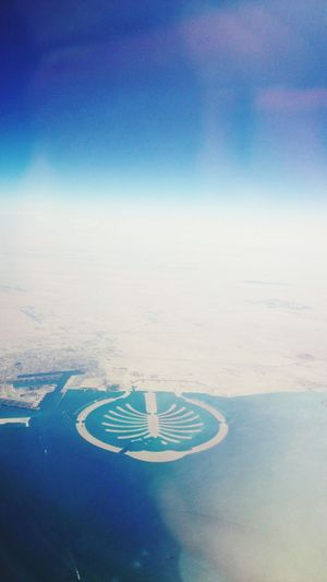 """""""Now we are fliying over the state of Dubai""""said captain view from my window seatDubai❤ Dubaicity From An Airplane Window Fromanairplanewindow From Where I Stand The View From My Window Birdeyeview. DubaiFromPlane Dubai From The Sky Clouds And Sky"""