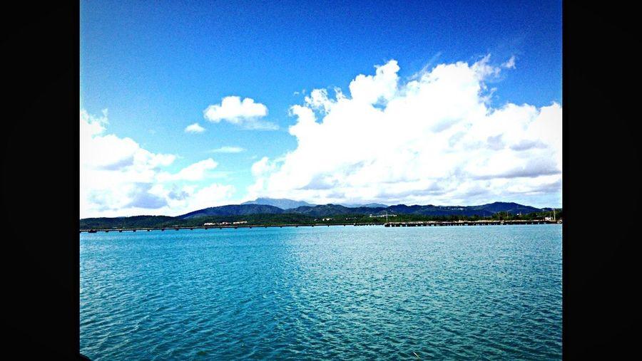 Water Shore Coastline Blue Sky Sea Beach Mountain Seascape