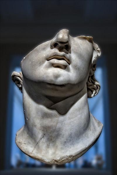 broken statuary head Art Broken Sculpture Broken Statue Sculpture Statue