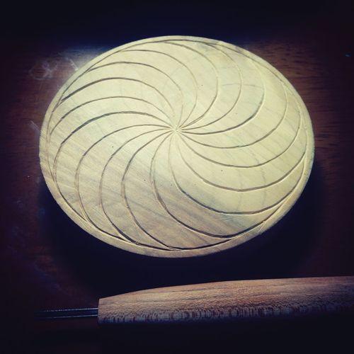 木に彫る。 YohkoAmaterraArt Mandala 曼荼羅 Create Art My Art Work Mandalas My Art Flower Of Life Nature