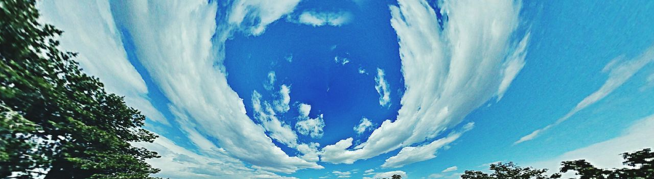 Partly cloudy Clouds And Sky Clouds Cloudporn Cloud - Sky Cloud_collection  Panorama Panoramic Photography Taking Photos Check This Out Eye4photography  EyeEmBestEdits No People Samsungphotography Cool Picture Samsung Galaxy Note 4 Sky Tempe Az