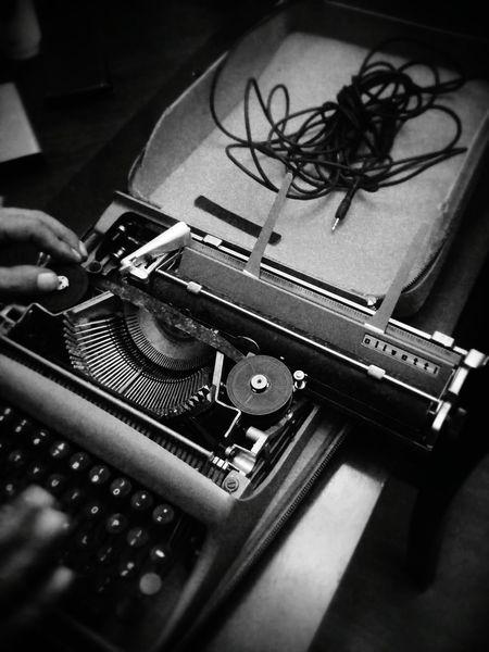 OlivettiEnjoying Life Mr. Fix It The Writer's Life