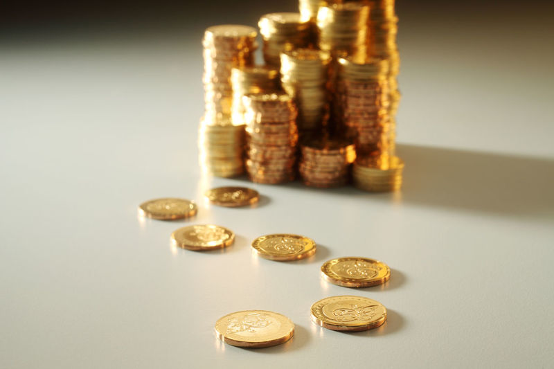 pile of gold coins Currency Gold Growth Rate Stack Tresure Bank Cash Chart Coin Finance Gold Colored Heap Investment Large Group Of Objects Many Metal Money Payment Pile Savings Symbol Trade Valuable Wealth
