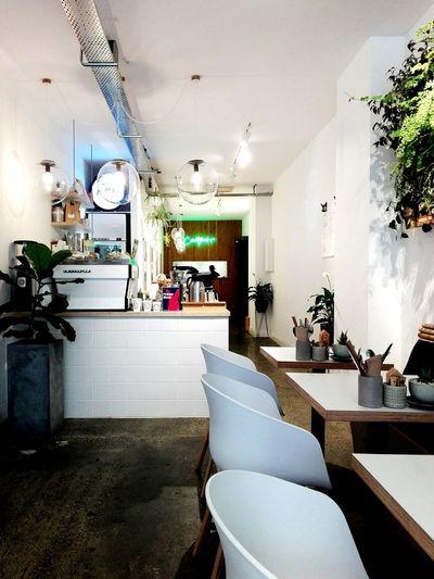 Korean inspired kitchen/cafe. Coffee Shop Indoors  Luxury Home Showcase Interior Architecture Modern Day Cafe Restaurant Interior Design
