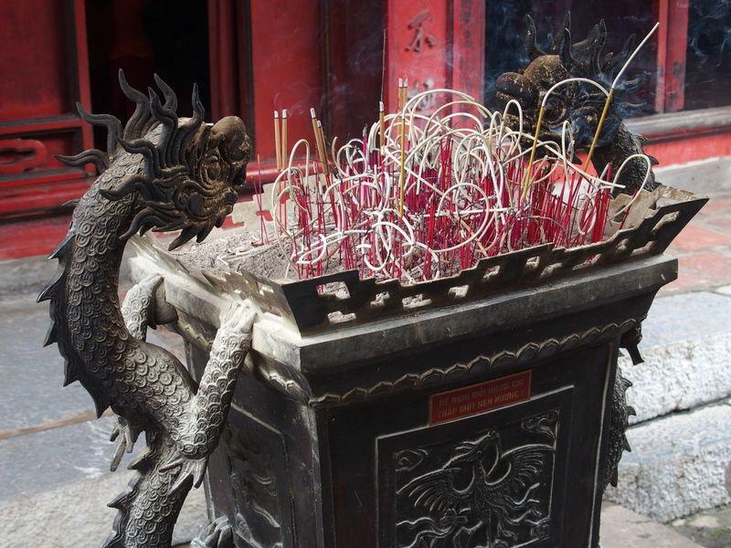 Trip in Hanoi, august 2015 August 2015. Candles Close-up Encens Hanoi City Hanoi Vietnam  No People Spirituality Vietnam