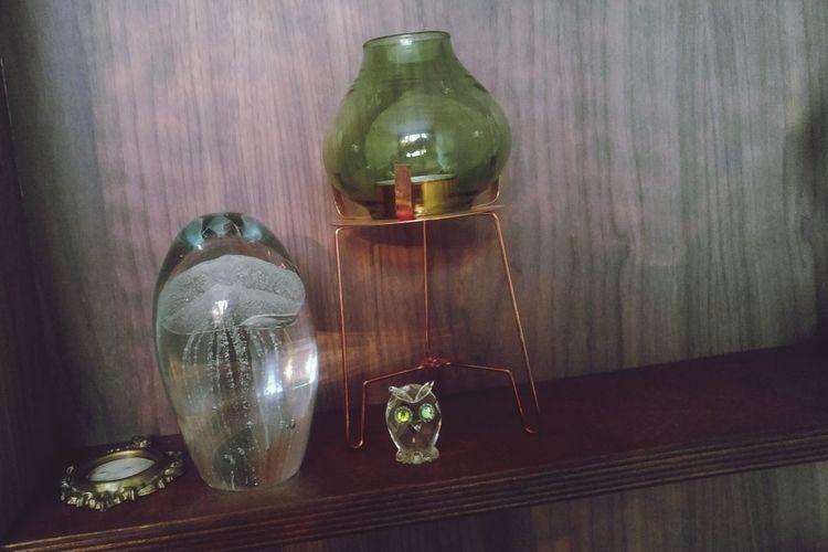UIL Waxine Lights Kwal Notenhout Wood - Material Indoors  Bottle Hanging No People Blackboard