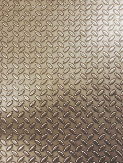Full frame shot of patterned metal