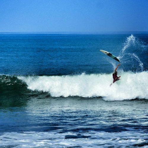 Smashed by waves at Brawa Beach in Canggu, Bali. 🌞😍🌊👉☝🌏🌍🌎🏄💓 Surfing Bali INDONESIA Waves Sea Fun Happy Sun Swell Traveling