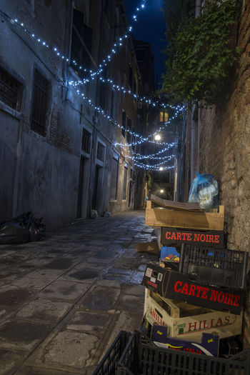 Garbage Italy Lights Long Exposure Street Streetphotography Venice