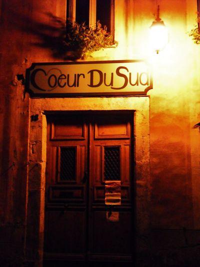Architecture Building Exterior Close-up Coeur Du Sud Communication Day Door France Lanterne Lumière No People Nuit Outdoors Text Vieille Ville