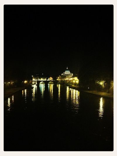 i love my hometown View On The Bridge Roma Water Reflections