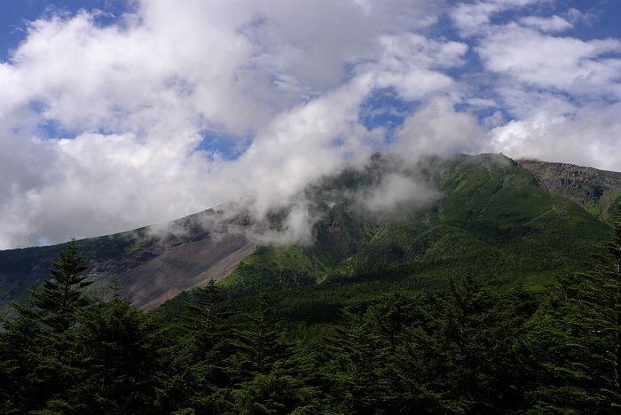 御嶽山噴火から1年 御嶽山