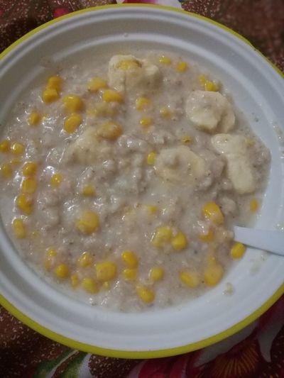 corn oatmeal..