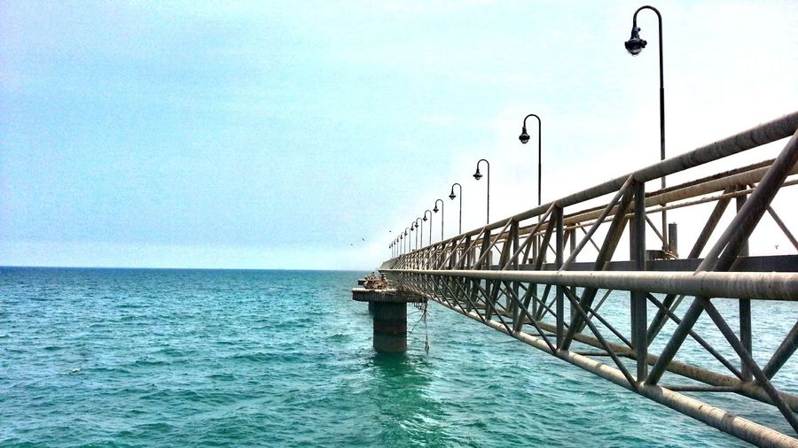 nevr end sea.. Sea View Sea_Cliff_Bridge Taking Photos Sea And Sky