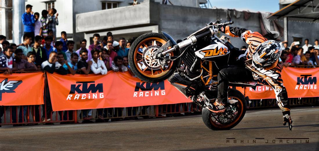 KTMRacing Stuntshow Nikonphotography