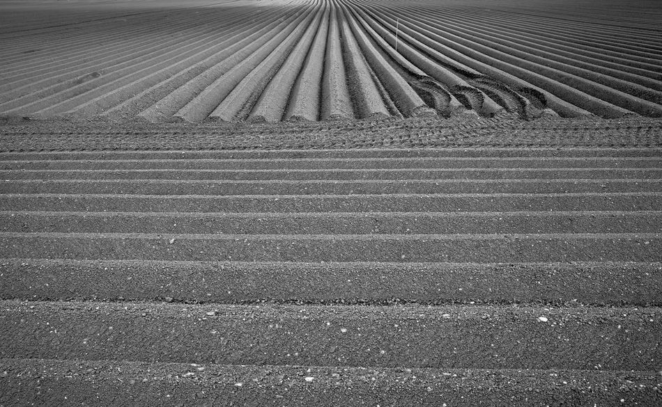 abstract art by farmer Acre Agriculture Art Is Everywhere B&w Bavaria Black And White Farming Field Full Frame Furrow Ground Growth Horizon Land No People Outdoors Pattern Plow Rural Scene Soil Textured