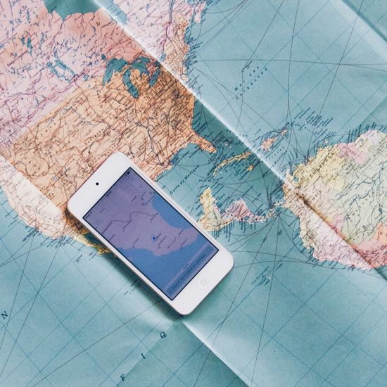 Map Direction Communication Wireless Technology No People Chart Indoors  Day