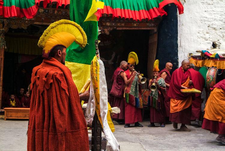 Karsha Gustor Festival at Karsha Gompa in Zanskar Valley Culture Folk Gompa India Karsha Kursha Ladakh Leh Padum People Religion Spirituality Traditional Clothing Travel Zanskar