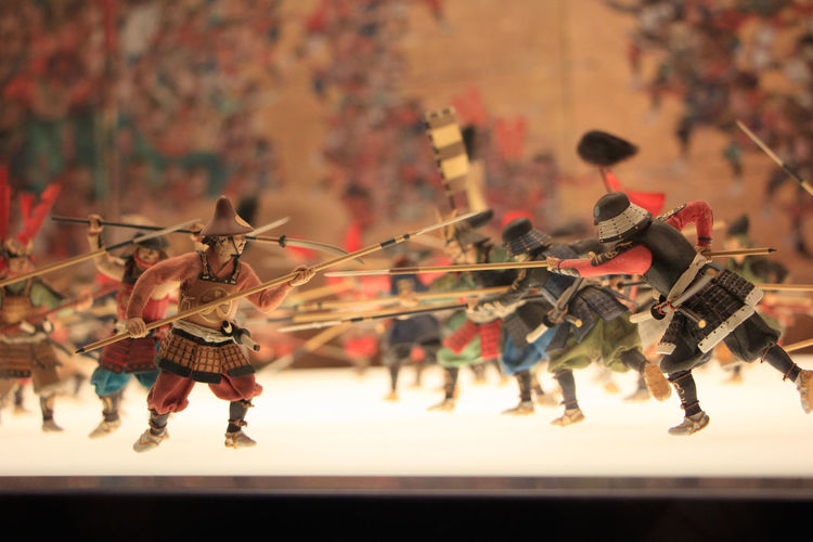 Summer Siege Miniature, Osaka Castle Museum, Osaka, Japan OSAKA Osaka,Japan Summer Siege Toys Attraction Miniature Miniature War Museum Summer War