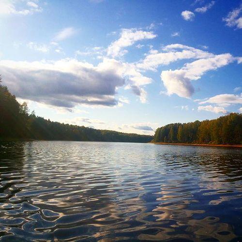 Наша дорогая, красавица, Себла))) мыприехали себла рыбинскоеводохранилище рыбинка класс отдыхаем река
