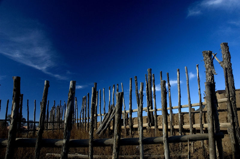 Taos Pueblo Blue Cloud - Sky Landscape Nature No People Scenics Sky Tranquility