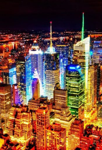 New York City At Night Time