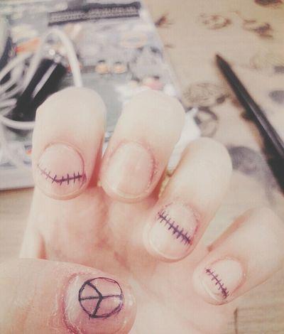 Cute Nail Art Jack Self Nail