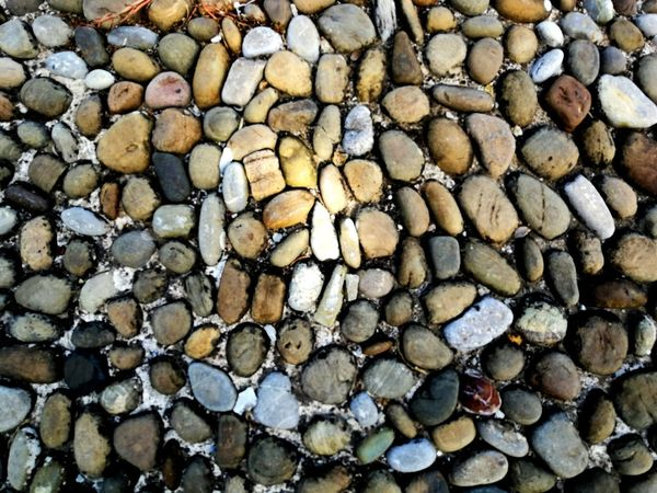 Backgrounds Full Frame Stack Textured  Pattern Pebble Beach Close-up