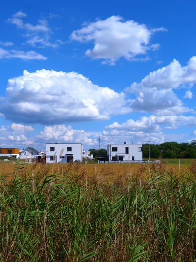 Petersbach Architecture Architektur Cloud - Sky Field Grass Landscape Sky