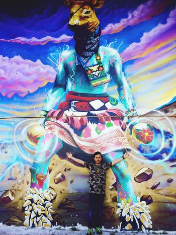 SanLuispotosi Huichol Peyote #Twezzz Twes Elcaminodelguerrero Fuerza Elvenadoazul Graffiti Artgraffiti
