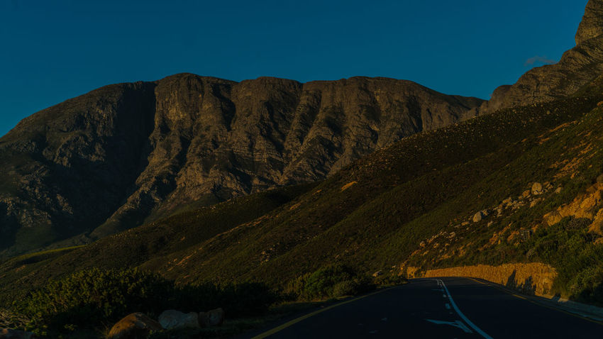 False Bay Mountain Views South Africa Beauty In Nature Blue Car Clear Sky False Bay Formation Glass - Material Hermanus Land Vehicle Mode Of Transportation Motor Vehicle Mountain Mountain Range Nature No People Non-urban Scene Outdoors Road Scenics - Nature Sky Tranquil Scene Transparent Transportation Vehicle Interior