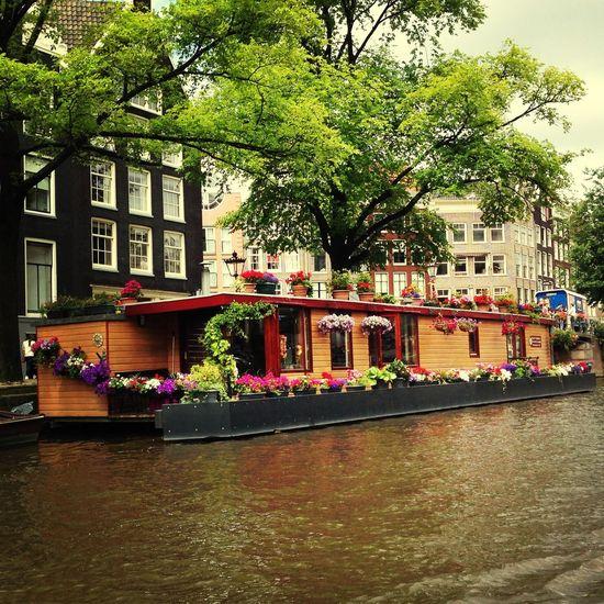Boat houses are fun Dutch Boathouse Dutch Canals Your Amsterdam Amsterdam Amsterdam Canal