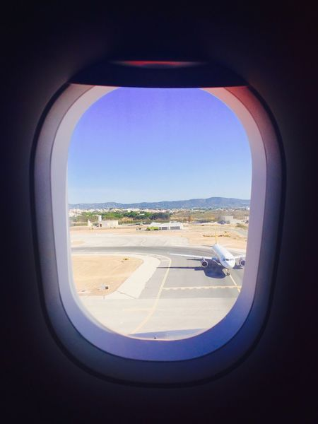 Done That. Window Vehicle Interior Glass - Material Airplane Indoors  Transportation Air Vehicle Travel Journey Mode Of Transport Sky Sea Day Looking Through Window Real People Horizon Over Water Runway Water Commercial Airplane Airplane Wing EyeEmNewHere AirPlane ✈ Windows Window View Connected By Travel Connected By Travel EyeEmNewHere Second Acts Be. Ready.