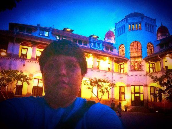 Lawang sewu.. Anyone?? Me, My Self And I Hanging Out Enjoying Life Hello World